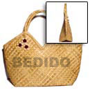 Summer Accessories Pandan V-bag  11x4 1 2x10 In SMRACL48BAG Summer Beach Wear Accessories Summer Bags