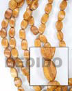Summer Accessories Bayong Twist 10x15mm In Beads SMRAC060WB Summer Beach Wear Accessories Wood Beads